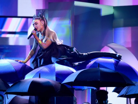 Ariana Grande's brother Frankie goes nuts for incredible No Tears Left To Cry BBMAs performance