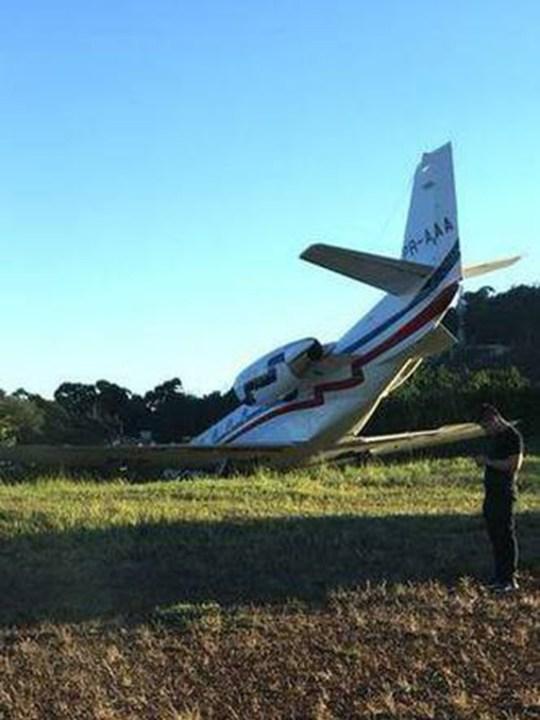 Terrifying video shows moment Brazilian DJ Alok's plane crash lands