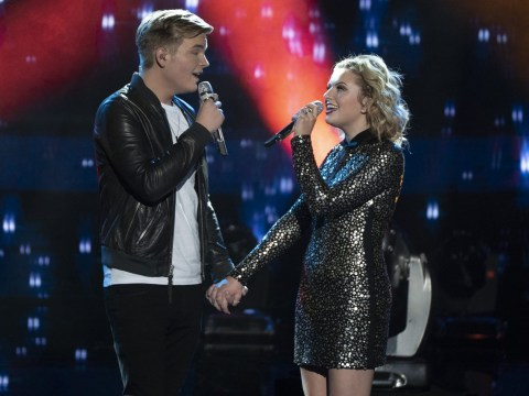 American Idol's Maddie Poppe reveals she's dating runner-up Caleb Lee Hutchinson as she wins season 16