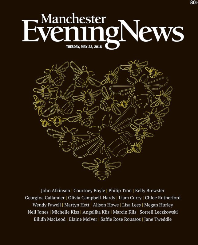 Manchester Evening News front cover