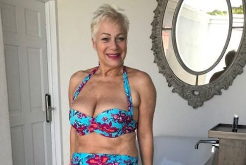 Denise Welch vows to strip off even when she is 90: 'I don't look bad for an old bird'