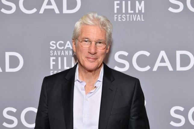 SAVANNAH, GA - NOVEMBER 04: Actor Richard Gere attends the Lifetime Award presentation at Trustees Theater during the 20th Anniversary SCAD Savannah Film Festival on November 4, 2017 in Savannah, Georgia. (Photo by Dia Dipasupil/Getty Images for SCAD)