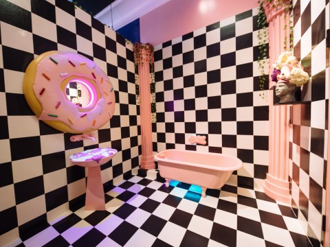 There's a massive art installation dedicated to sweets in Dallas