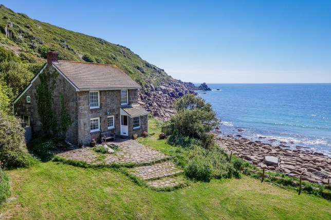 This 'magical' Cornish cove has gone on sale for ?2.6m - and comes complete with restaurant, gallery, and holiday cottages. See SWNS story SWCOVE: Lamorna Cove, one of the last remaining bays in private ownership in Britain, spans over 15 acres. The cove is best known for being the setting of a bohemian community in the early 1900s, and is the subject of a Cornish sea shanty. And now the cove has gone up for sale as the current owner, Roy Stevenson, 68, decided it was time the cove had a new owner.