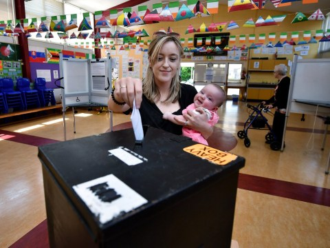 Ireland overwhelmingly backs changing abortion laws, exit poll reveals