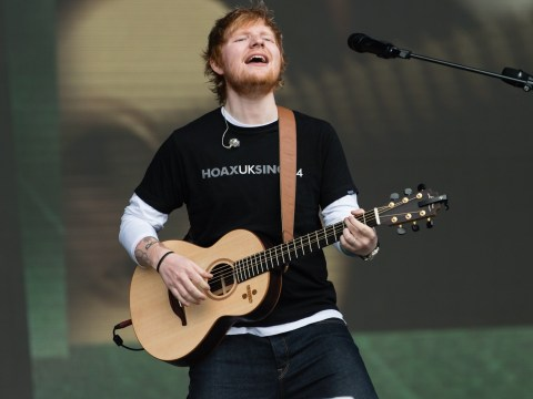 'I thought no one would be here': Ed Sheeran jokes about being Biggest Weekend's 'warm up act'