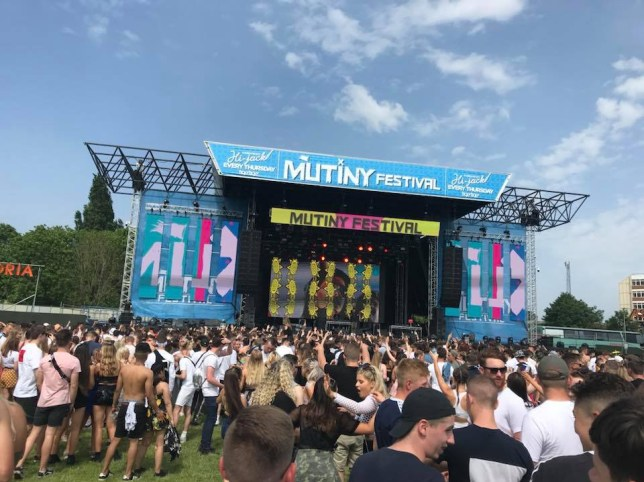 Mutiny Festival in Portsmouth (Picture: Mutiny Festivals)