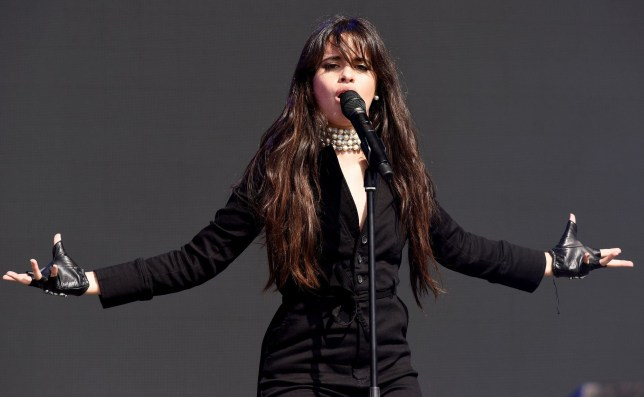 SWANSEA, WALES - MAY 27: Camila Cabello performs during day 2 of BBC Radio 1's Biggest Weekend 2018 held at Singleton Park on May 27, 2018 in Swansea, Wales. (Photo by Dave J Hogan/Dave J Hogan/Getty Images)