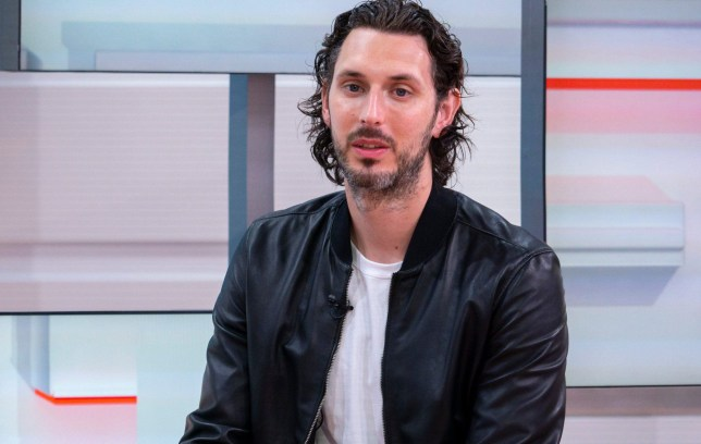 EDITORIAL USE ONLY. NO MERCHANDISING Mandatory Credit: Photo by S Meddle/ITV/REX/Shutterstock (9695045bl) Blake Harrison 'Good Morning Britain' TV show, London, UK - 28 May 2018 BLAKE HARRISON - CHARLOTTE It was the seminal coming-of-age drama for the millennial generation, now Neil from The Inbetweeners is all grown up and here to talk about reunion plans and his dark new role in the gripping BBC drama, A Very English Scandal. And when he's done with trying to bump off Norman Scott, he'll be back on stage in the black comedy, End Of The Pier.