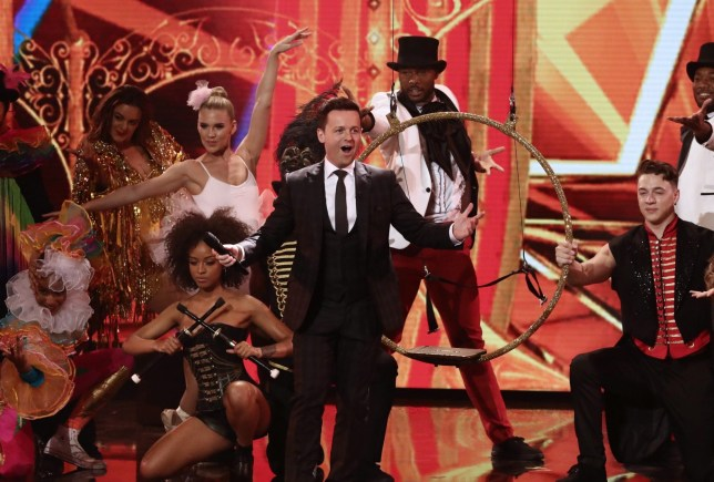 Editorial Use Only - No Merchandising Mandatory Credit: Photo by Dymond/Thames/Syco/REX/Shutterstock (9695095aa) Declan Donnelly 'Britain's Got Talent' TV show, Series 12, Episode 8, UK - 28 May 2018