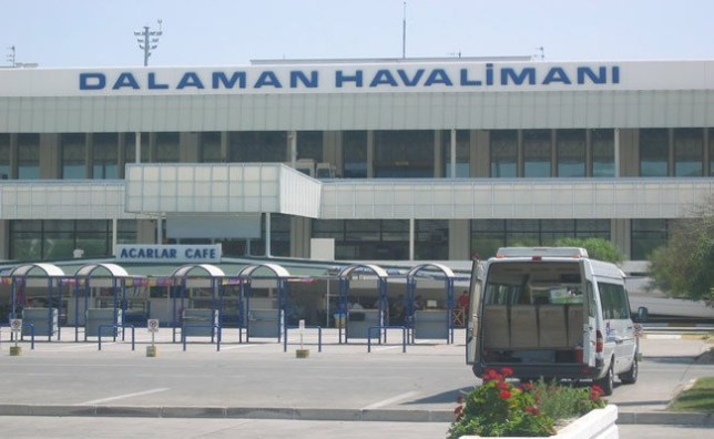 Dalaman airport Taken from internet without permission