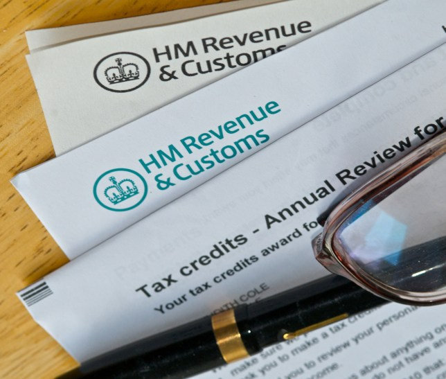 Mandatory Credit: Photo by David Cole/REX/Shutterstock (1227639c) Tax papers from the UK tax authortities, Her Majesty's Revenue and Customs Tax papers from the UK tax authortities, Britain - Sep 2010