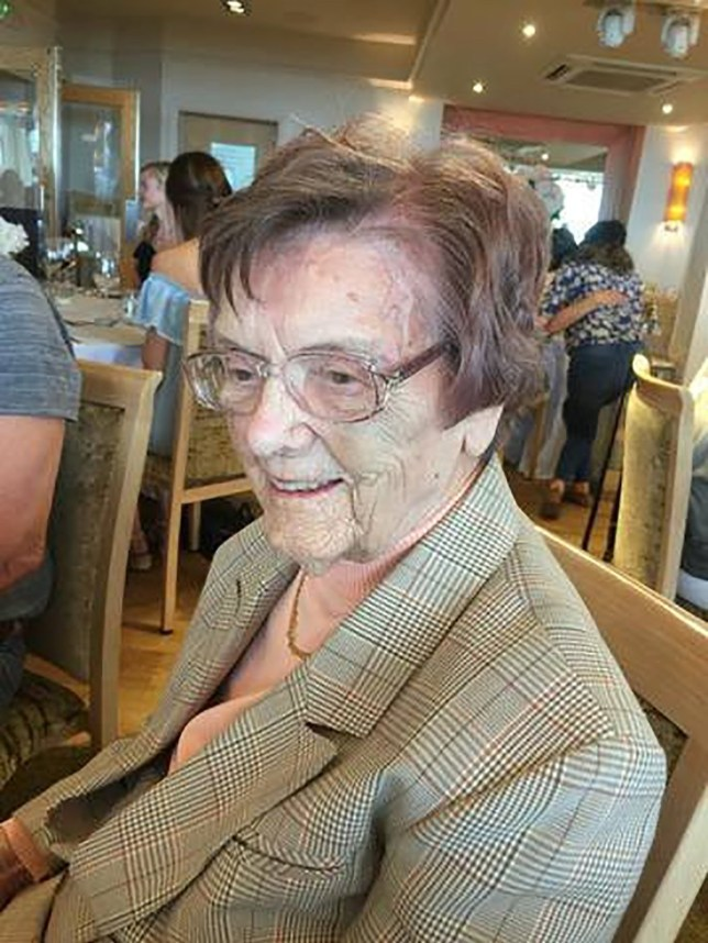 100-year-old's death
