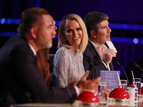 David Walliams apologises live on air for claiming Simon Cowell slept with Amanda Holden – then takes it back