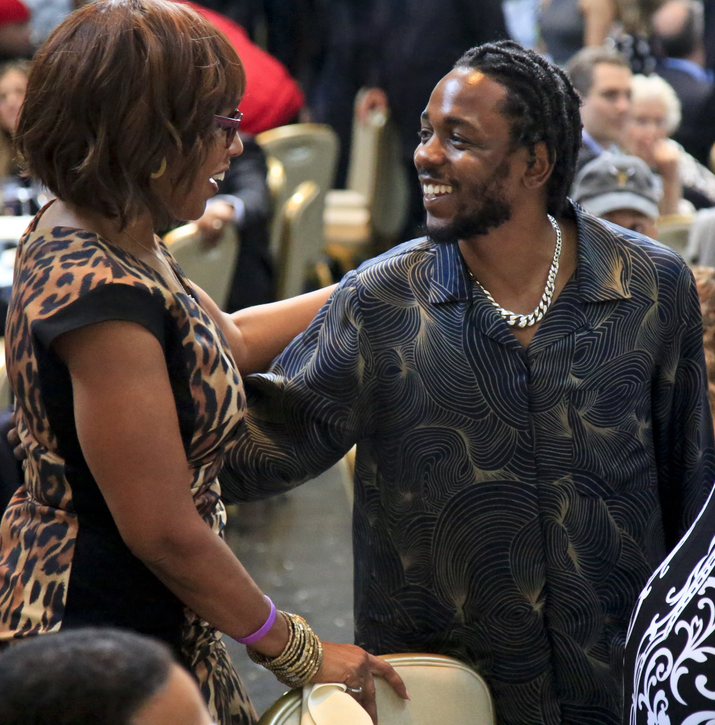 Kendrick Lamar looks pleased as punch as he makes history receiving Pulitzer Prize for Damn