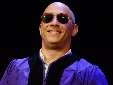 Vin Diesel becomes an actual doctor as he graduates with a PhD – 30 years after dropping out of uni