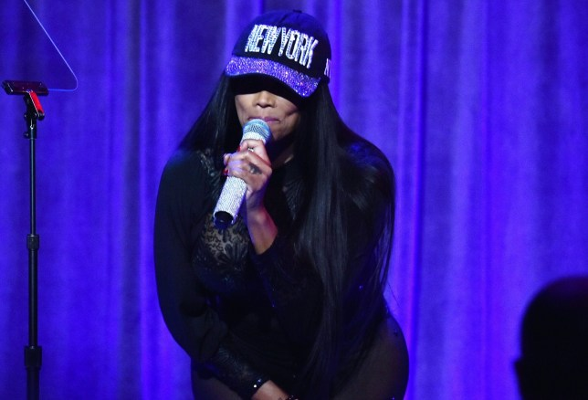 Mandatory Credit: Photo by Andrew H. Walker/REX/Shutterstock (9634707c) Sandra 'Pepa' Denton, Salt-N-Pepa Food Bank for New York City Can Do Awards Dinner, Inside, New York, USA - 17 Apr 2018