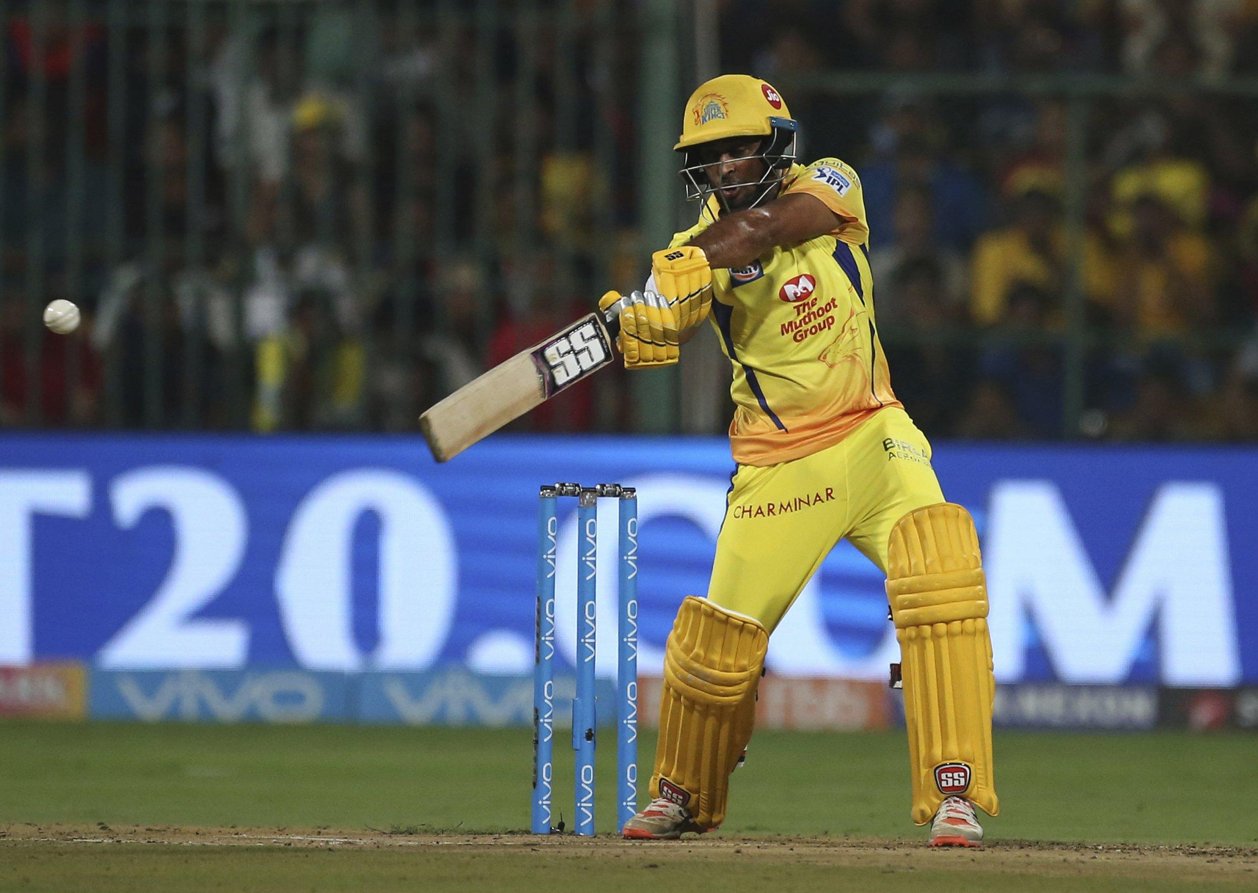 Rajasthan Royals v Chennai Super Kings betting preview: Ambati Rayudu can upstage fellow IPL veteran Shane Watson