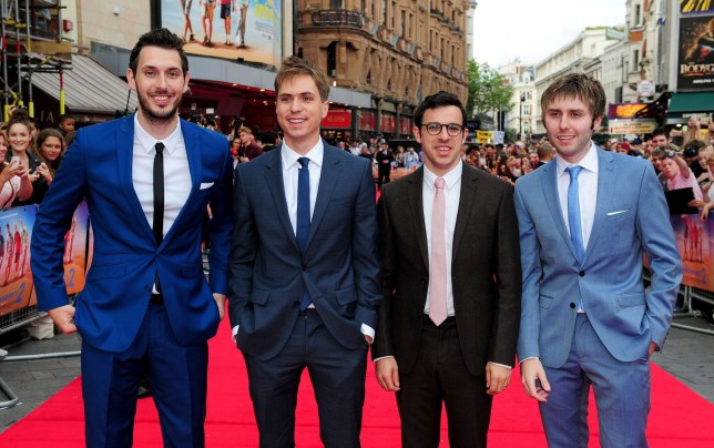 The Inbetweeners star Simon Bird is not here for a 'depressing' reunion