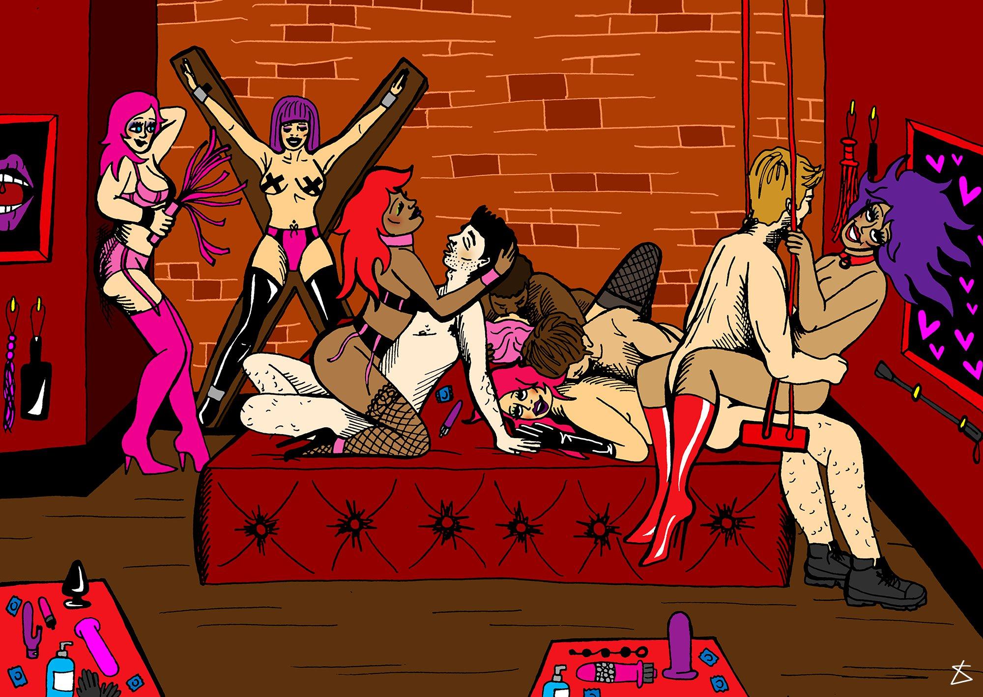 Kinky sex club 2005