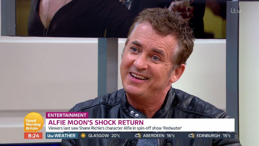 Shane Richie lets slip EastEnders spoiler on Alfie Moon's return as he takes dig at Coleen Nolan