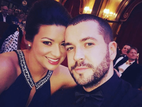 Sophie Austin shares loving message to fiance Shayne Ward after Aidan Connor's Coronation Street suicide