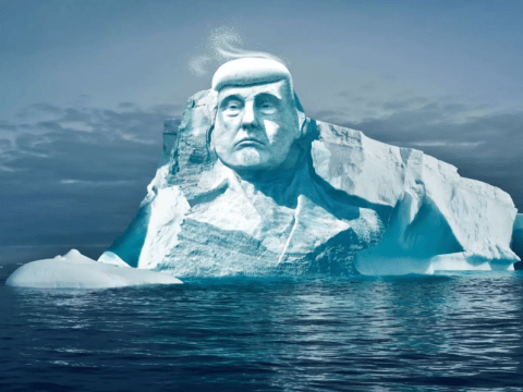 Donald Trump's face to be carved on an iceberg to create 'Mount Trumpmore' monument