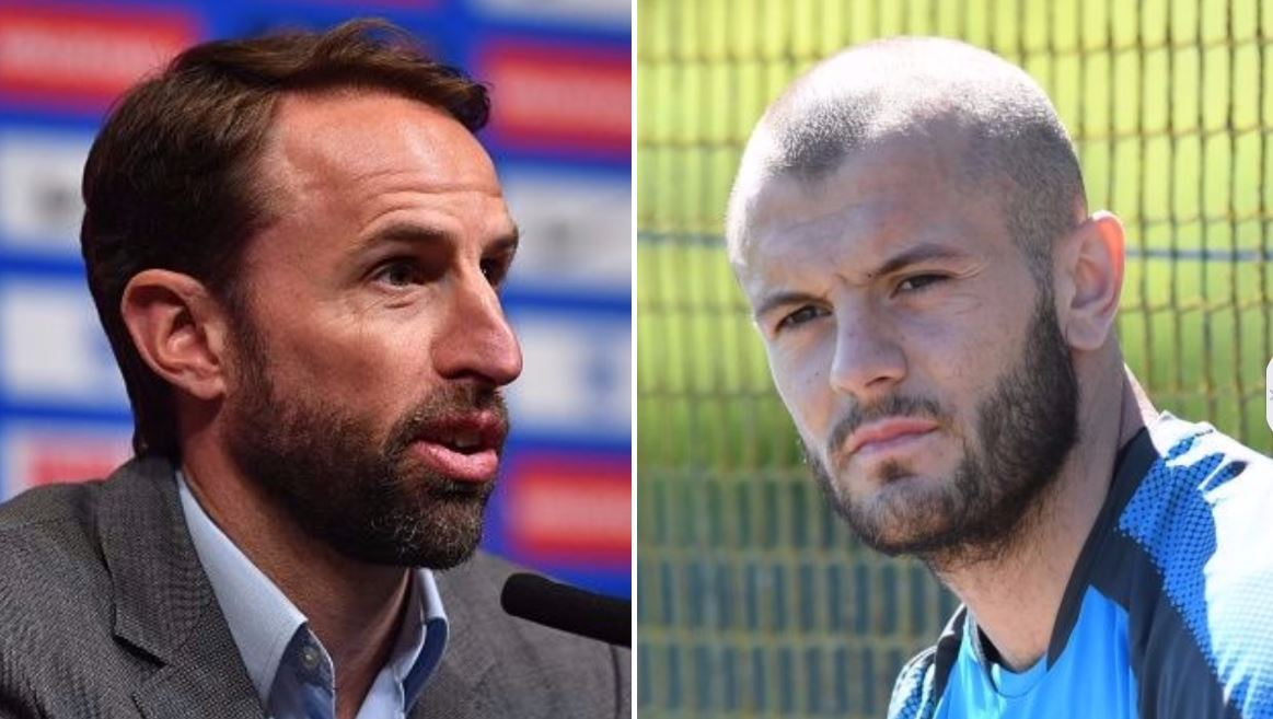 Gareth Southgate reveals why he left Jack Wilshere out of England's World Cup squad