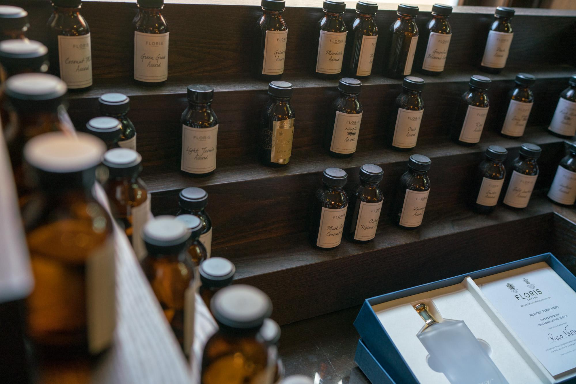 Floris bespoke perfume feature