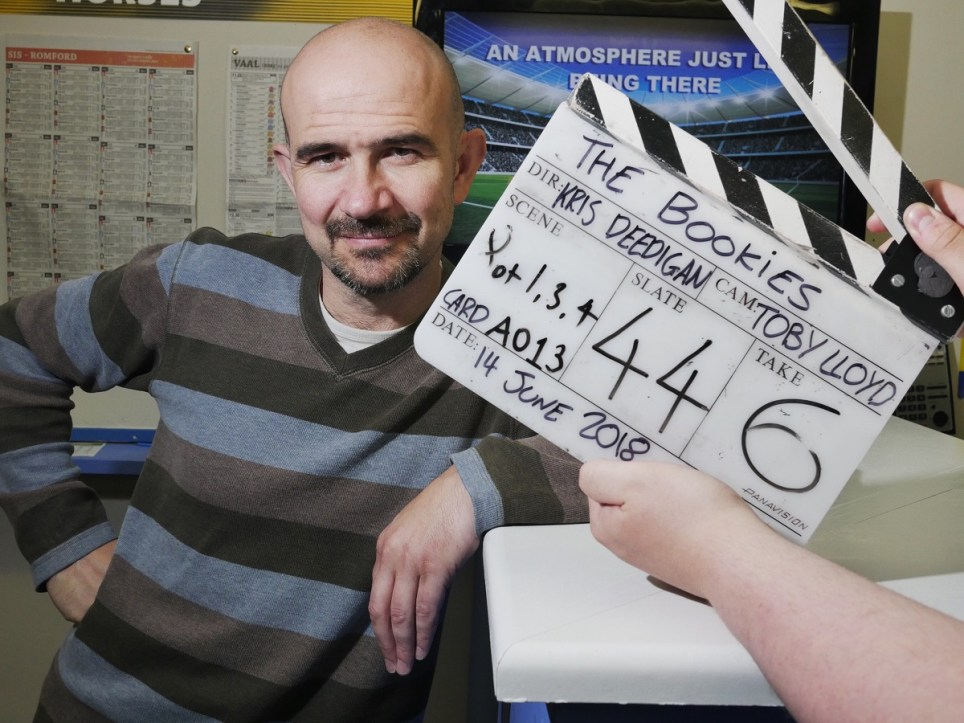 Actor Chris Connel, Alnwick,Northumberland, 15/6 2018..<br /> Photo: Mark Pinder<br /> +44 (0)7768 211174<br /> pinder.photo@gmail.com<br /> www.markpinder.eu