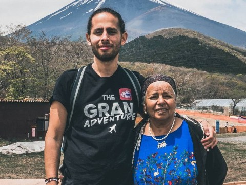 This man is backpacking with his gran around Southeast Asia