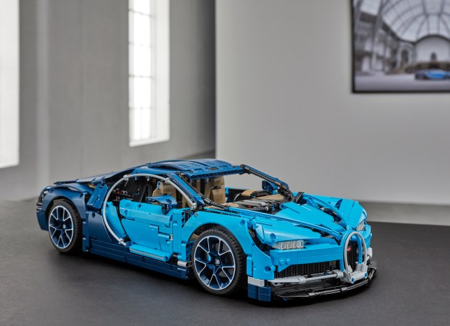 The Lego Bugatti Chiron - even better than the real thing