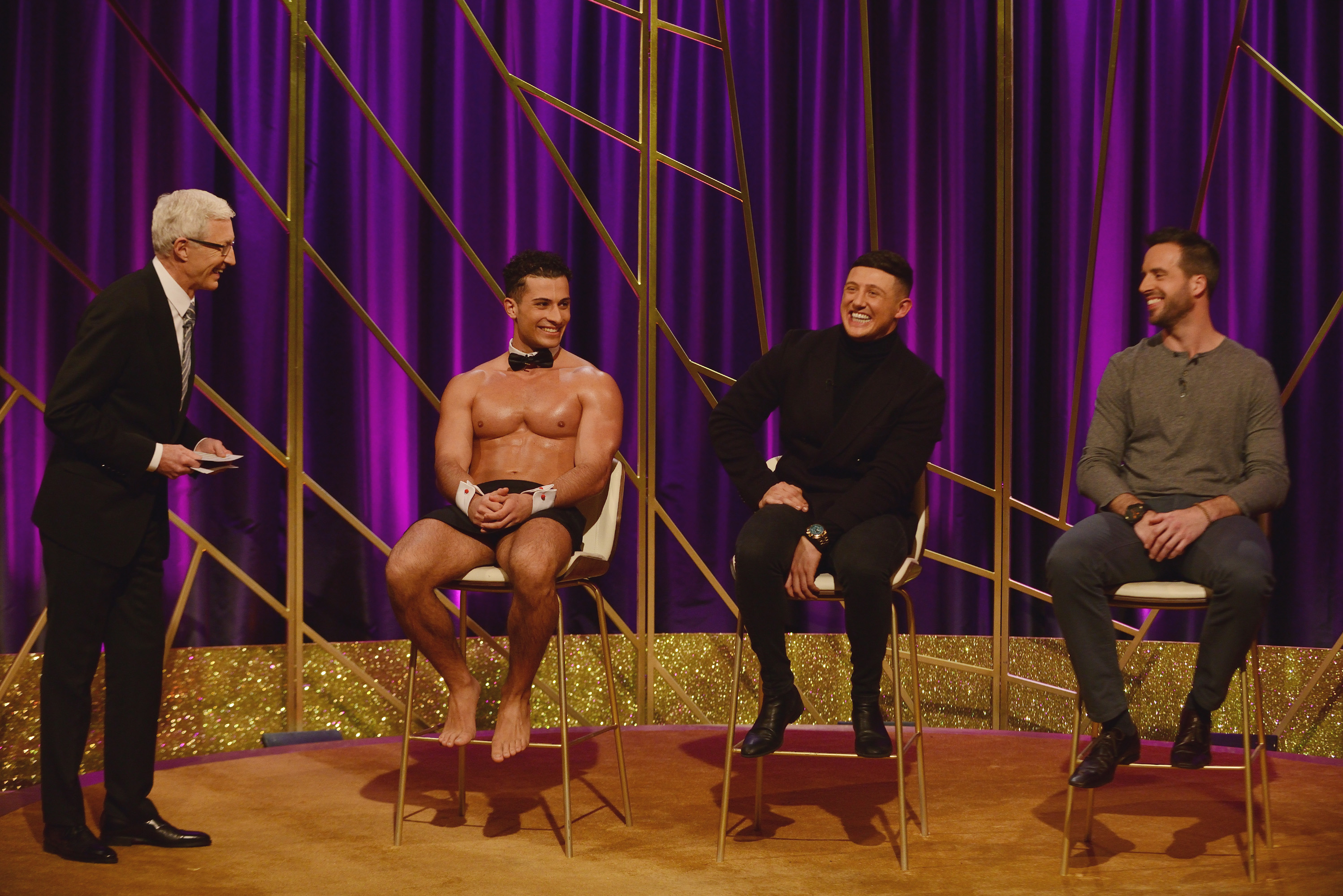 Blind Date returns with a butler in the buff and a real mummy's boy