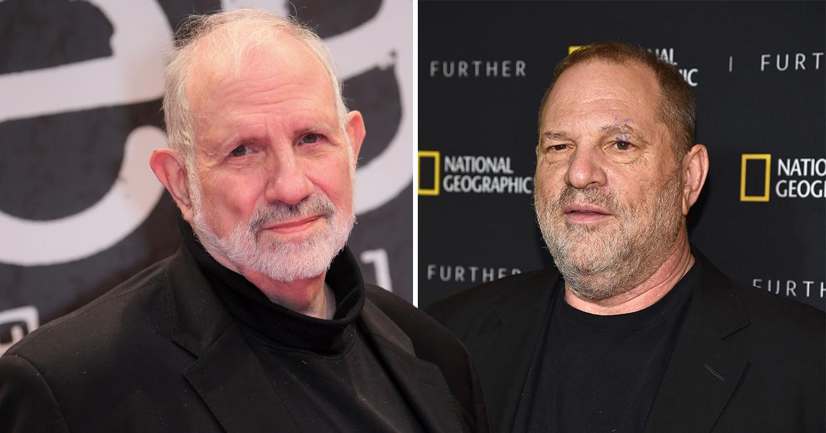 Brian De Palma and Harvey Weinstein