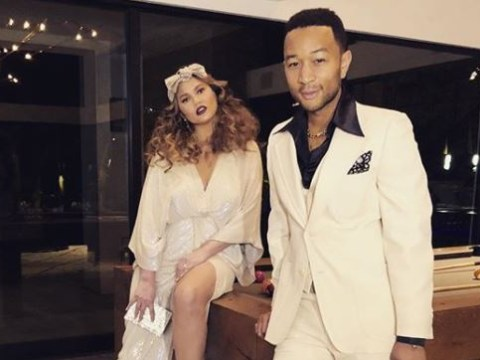 Chrissy Teigen and John Legend go full Stayin' Alive on date night and slay as per usual