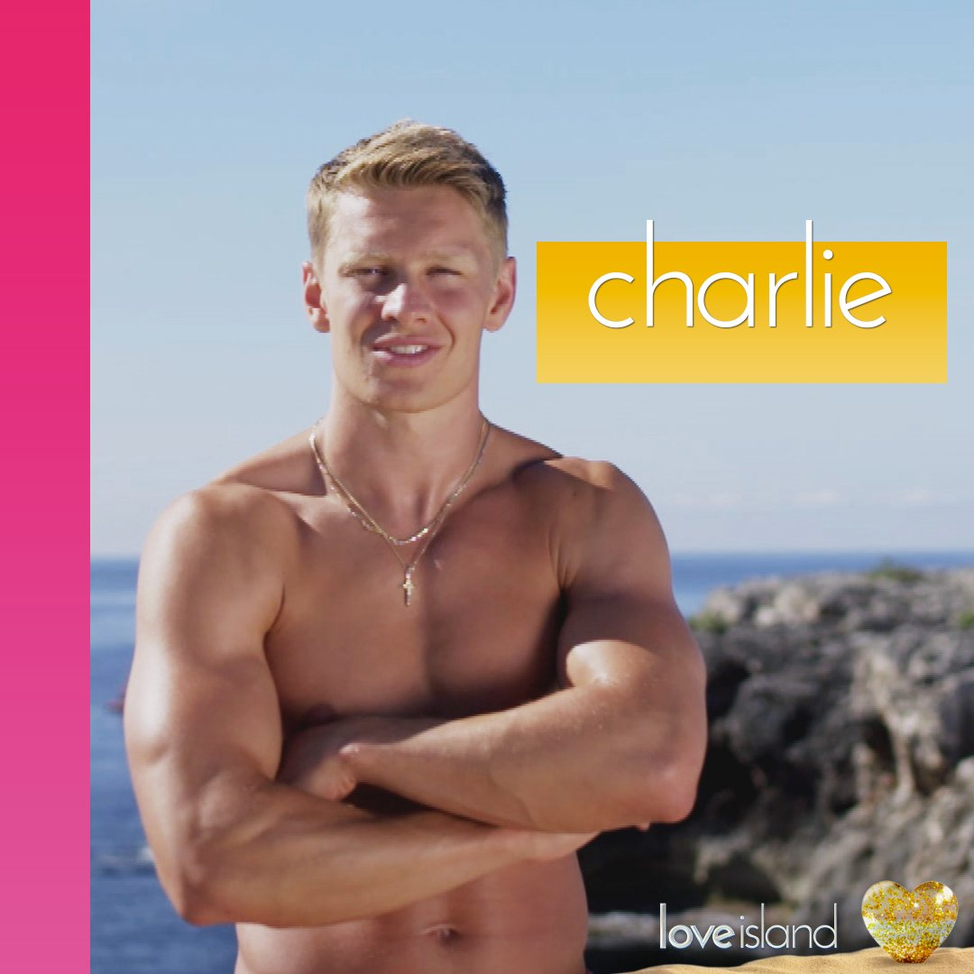 Charlie Frederick 'is looking for fun' on Love Island (Picture: Twitter)
