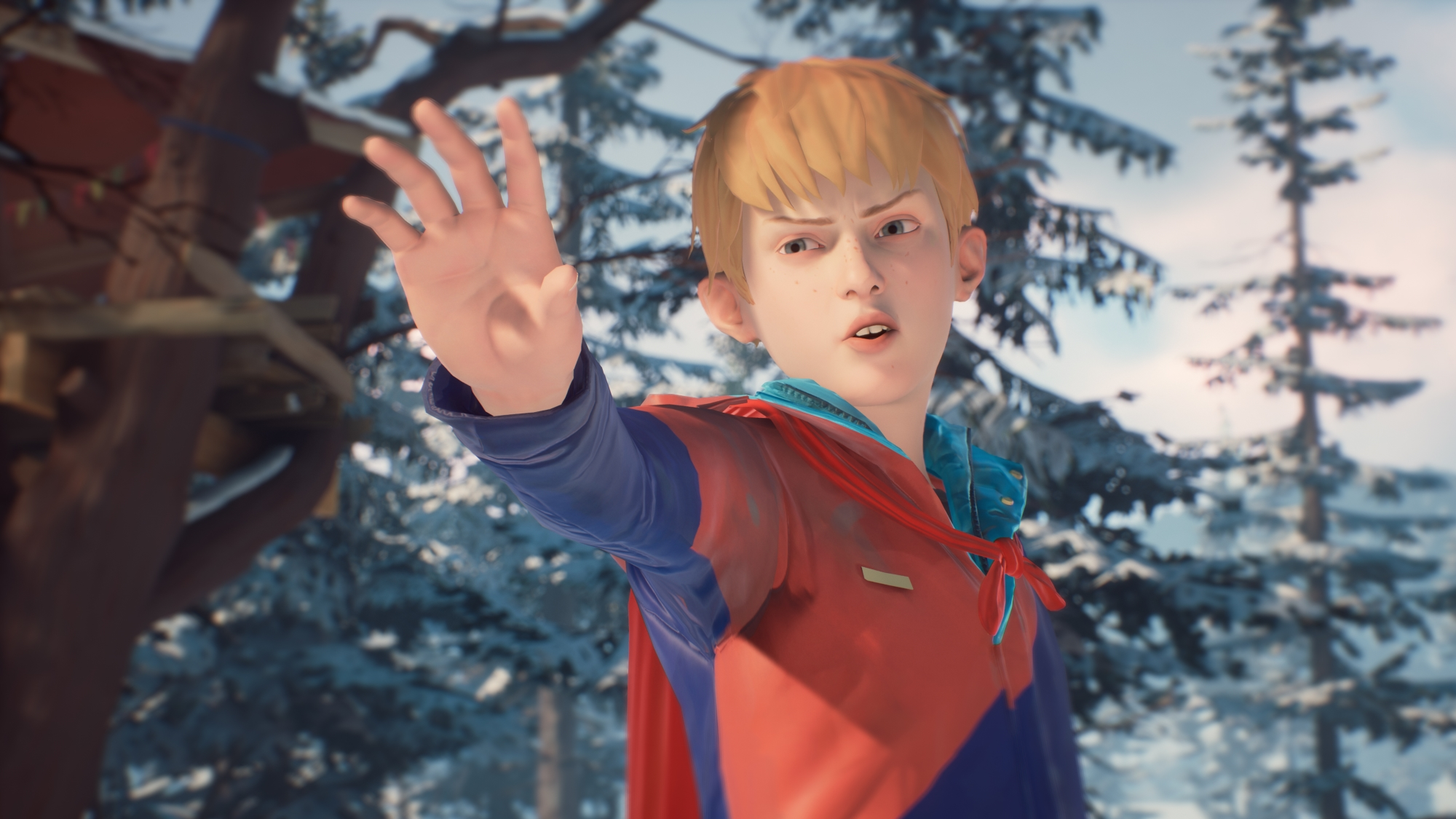 The Awesome Adventures Of Captain Spirit - use the Force, Chris
