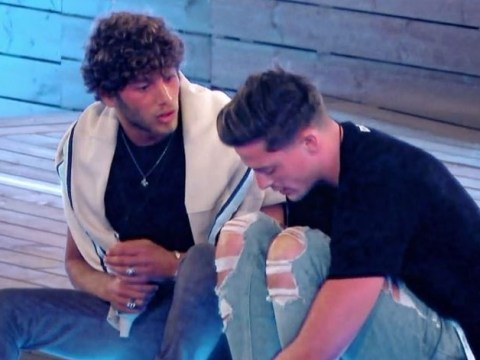 Love Island: Alex George accuses Eyal Booker of 'trying to scare him' after Megan kiss