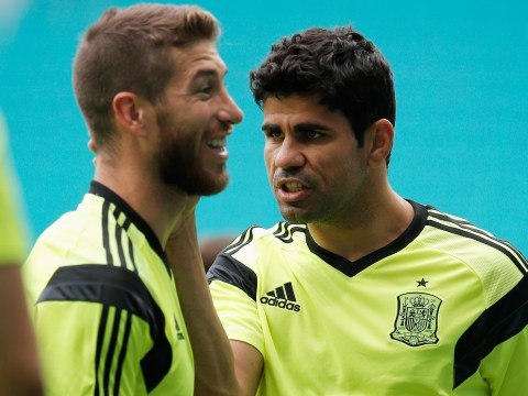 Diego Costa & Spain's Chelsea players told Sergio Ramos to block Real Madrid move for Antonio Conte