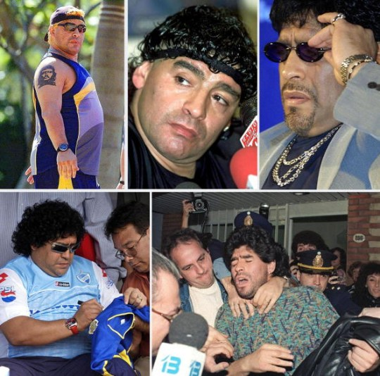 A history of Diego Maradona's epic use of cocaine and other drugs