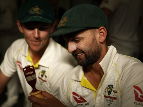 Nathan Lyon's savage reply when trolled by England fan over Australia ball-tampering scandal