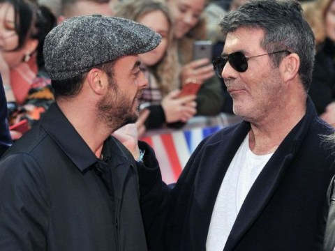Simon Cowell got Dec to deliver Ant McPartlin messages in rehab