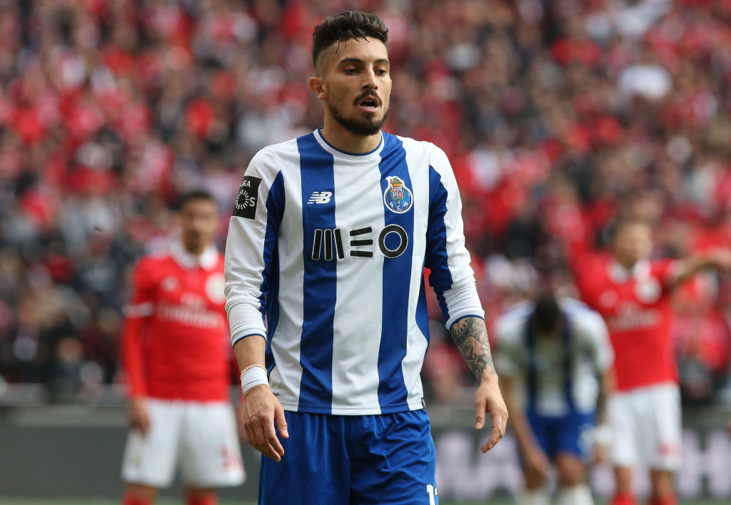 Liverpool considering the £35 million release clause of Porto star defender Alex Telles