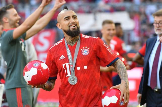 quality design 5b85a 25460 Barcelona agree £27m deal for Bayern Munich star Arturo ...