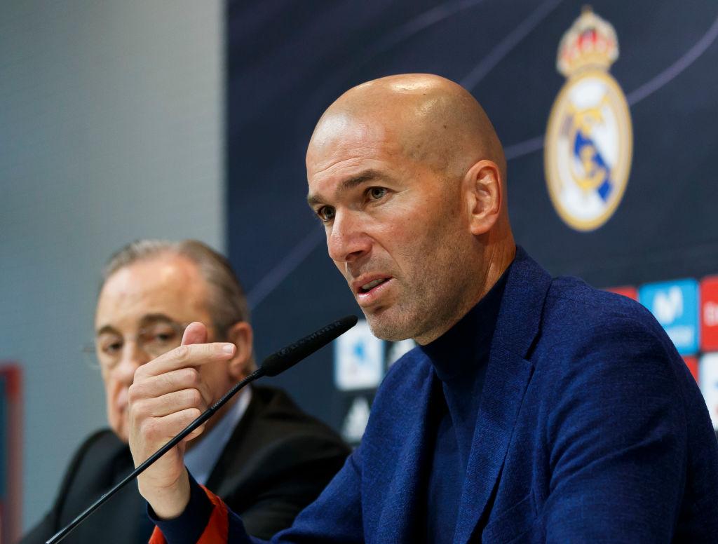Zinedine Zidane quit Real Madrid after row with Florentino Perez over Eden Hazard and David De Gea