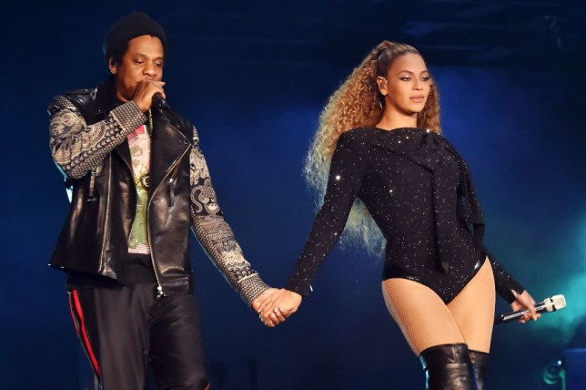 Beyonce and Jay Z on OTRII