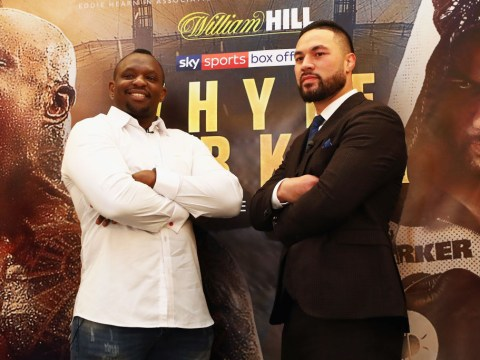 When are Dillian Whyte vs Joseph Parker tickets on sale and who is on the undercard?