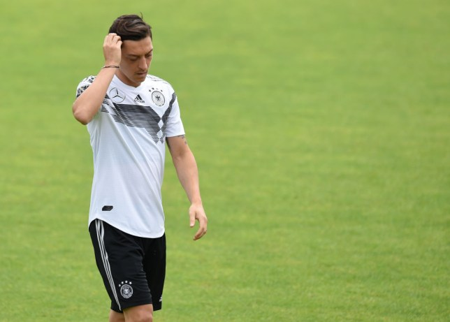 3d6217b4c Mesut Ozil breaks silence as fears grow over his fitness for Germany s  World Cup opener