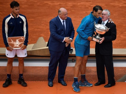 Ken Rosewall aims dig at Dominic Thiem after French Open final defeat