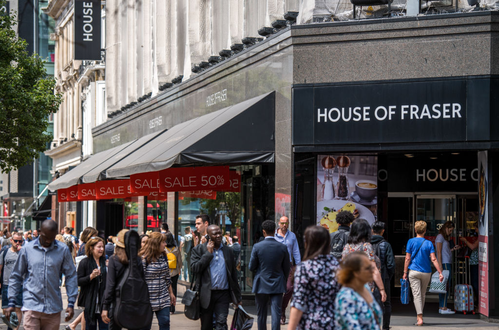 Which House of Fraser stores will close? Full list of shop closures